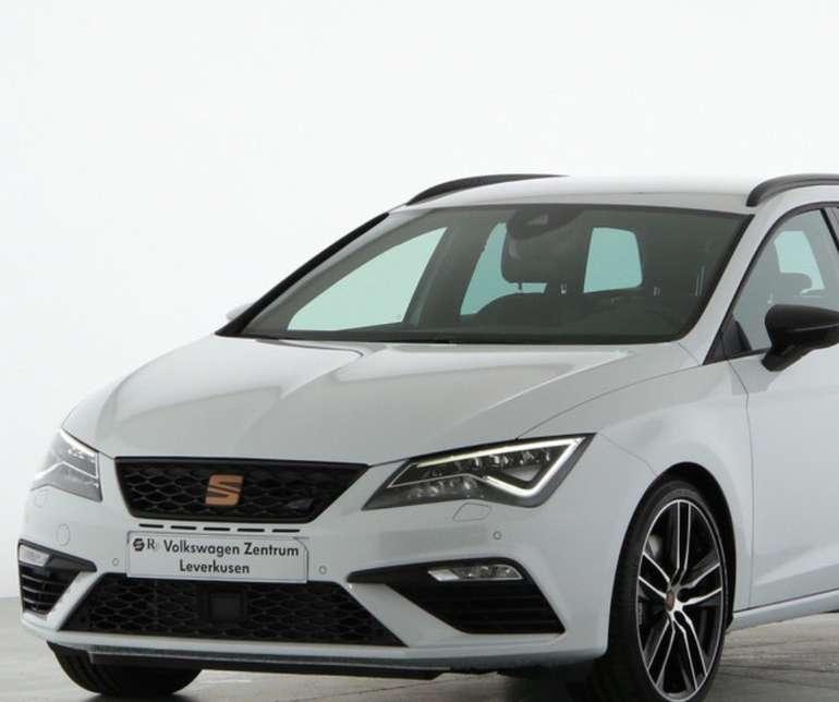 Gewerbe Leasing: Seat Cupra Leon ST 2.0 mit 300 PS für 159€ (Netto) bzw. 189€ (Brutto) im Monat (LF:0,41)