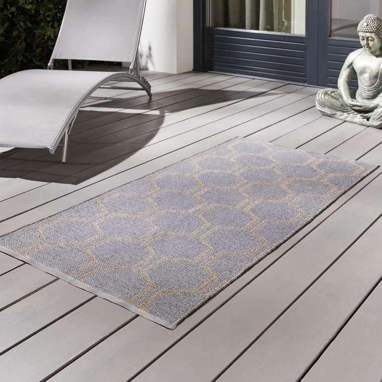Verschiedene Bessagi Garden Outdoorteppiche (70cm x 140cm) für je nur 11,25€ (MBW: 15€)
