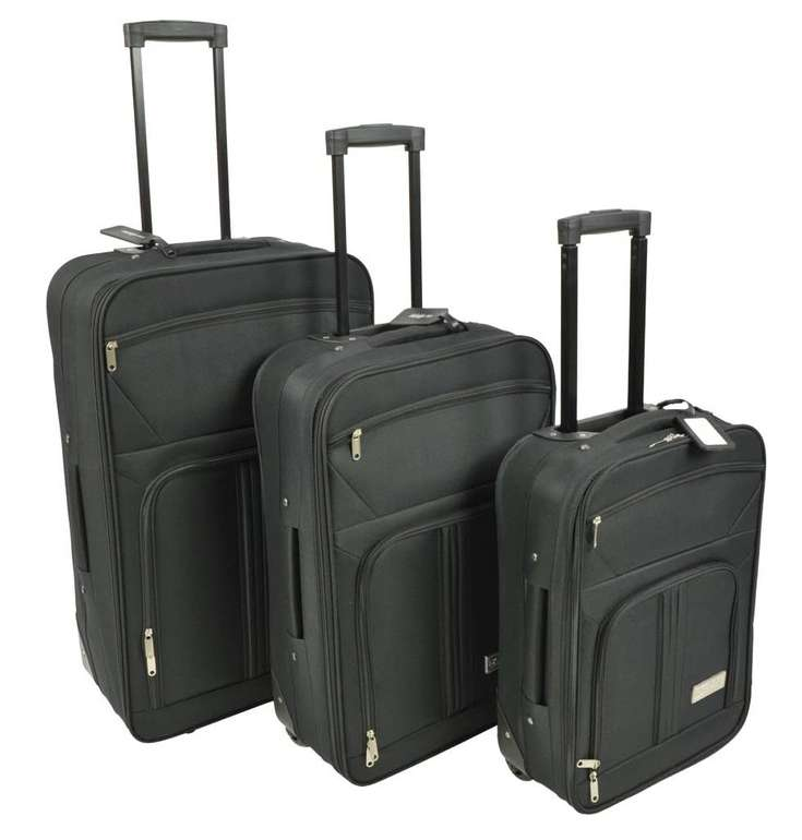 McAllister Travel Systems Rollkoffer Set (M/L/XL) für 71,99€ inkl. Versand (statt 101€)