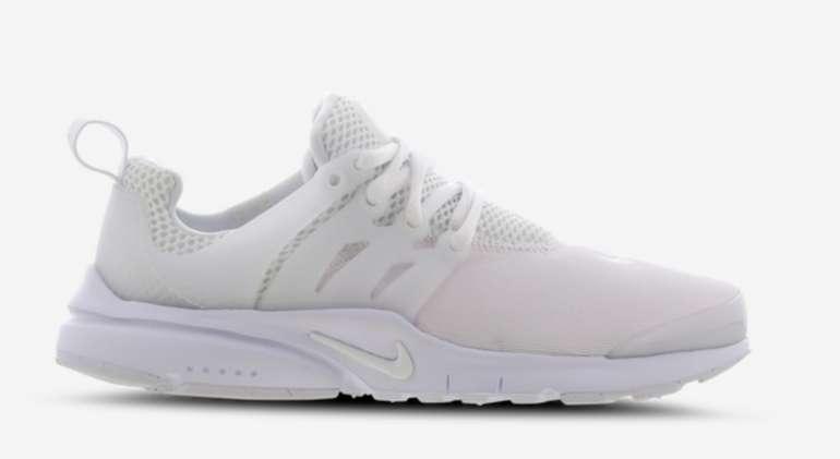 Nike Air Presto (GS) Kinder Sneaker für 59,99€ inkl. Versand (statt 70€)