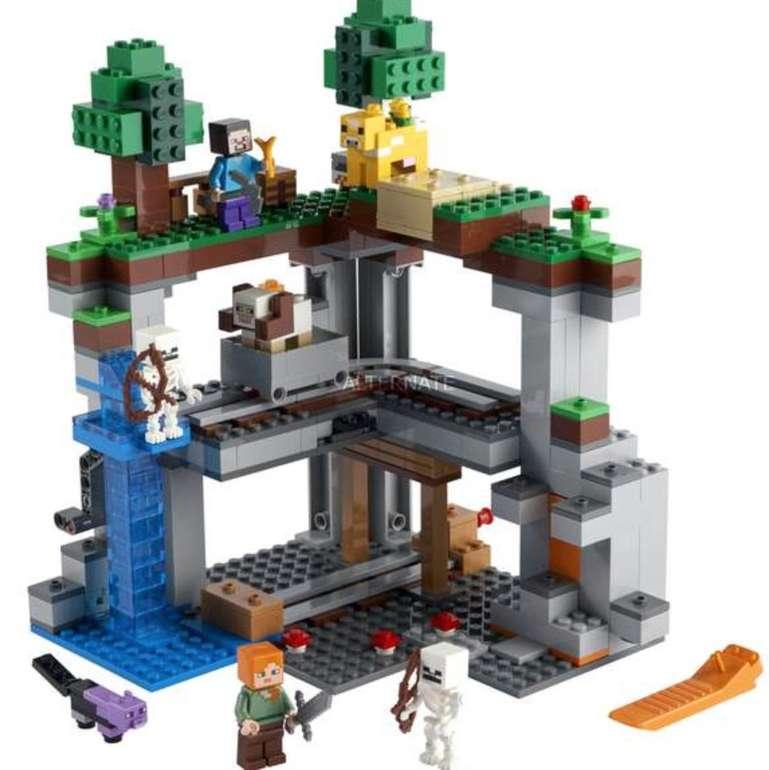 Prime Days: Lego Minecraft - Das erste Abenteuer (21169) für 35,99€ inkl. Versand (statt 47€)