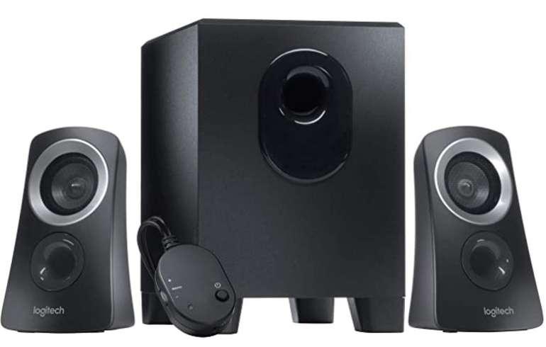 Amazon Prime Day: Logitech Z313 2.1 Lautsprecher-System mit Subwoofer & 50 Watt Spitzenleistung für 26,59€