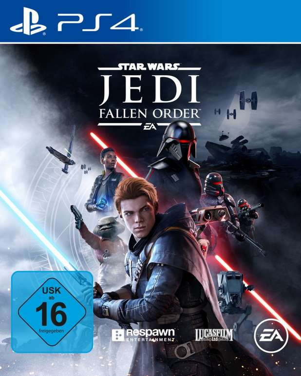 Star Wars Jedi: Fallen Order (PlayStation 4) für 24,99€ zzgl. Versand (statt 36€) - auch Xbox Version!