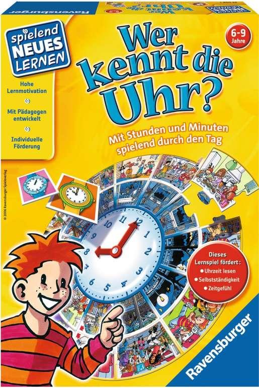 Ravensburger Wer kennt die Uhr? (24995) für 6,99€ inkl. Prime Versand (statt 12€) - Mindestbestellmenge: 2 Stück