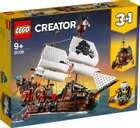 Lego Creator 31109 - 3-in-1 Piratenschiff für 64,99€ (statt 71€)