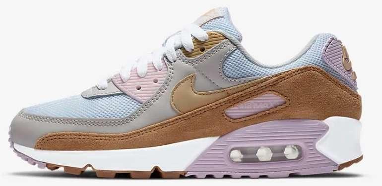 "Nike Air Max 90 Damen Sneaker im ""Light Orewood Brown/Sesame""-Colourway für 69,97€ - Nike Membership!"