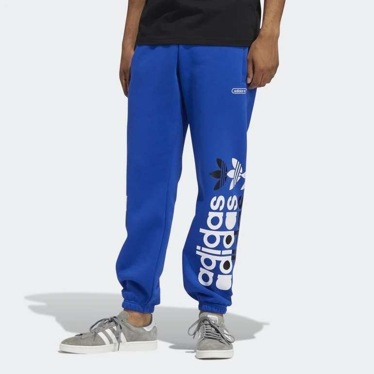 Adidas Forum Jogginghose in Royal Blau für 33,80€ inkl. Versand (statt 43€)