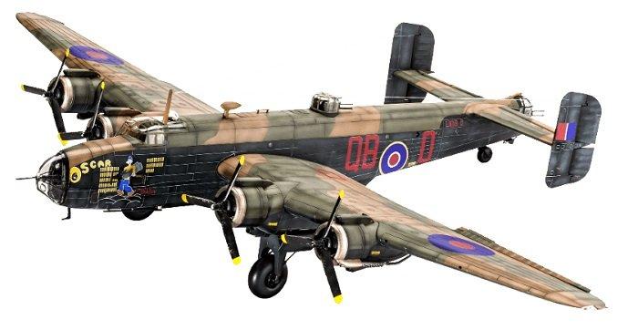 Revell Handley Page Halifax B MK.III Modellflugzeug für 14,99€ inkl. Versand