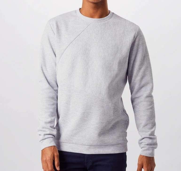 """Jack & Jones Sweatshirt """"Jcopen Sweat Crew Neck"""" in grau für 22,02€ inkl. Versand (statt 39€)"""