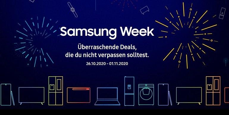Samsung Week 15% Rabatt auf Smartphones