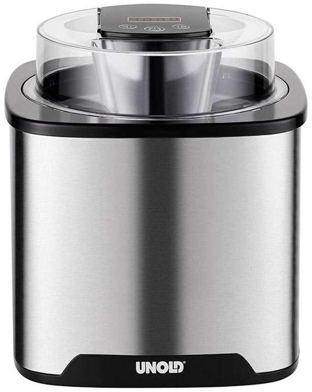 """Unold Eismaschine """"Gelato"""" (48855) in Silber mit 1,5 Liter und 12W für 49,94€ inkl. Versand (statt 55€)"""