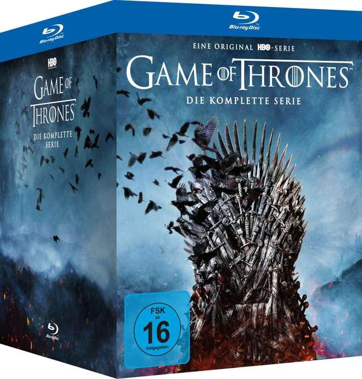 Game of Thrones - Die komplette Serie (30 Blu-rays) für 116,57€ inkl. Versand (statt 131€)