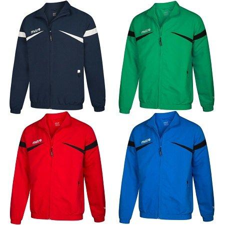 Mitre Polarize Herren Track Jacke in 5 Farben & vielen Größen je nur 8,39€