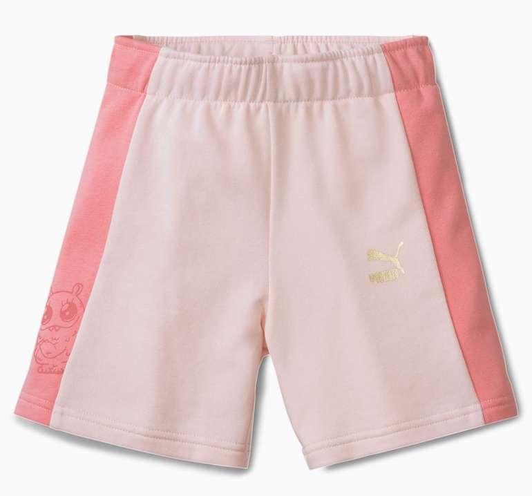 Puma Monster Mädchen Shorts in 2 Farben für je 9,69€ inkl. Versand (statt 17€)
