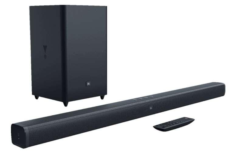 JBL Bar 21 - 2.1-Kanal-Soundbar mit kabellosem Subwoofer (300 Watt) für 193,98€ inkl. Versand