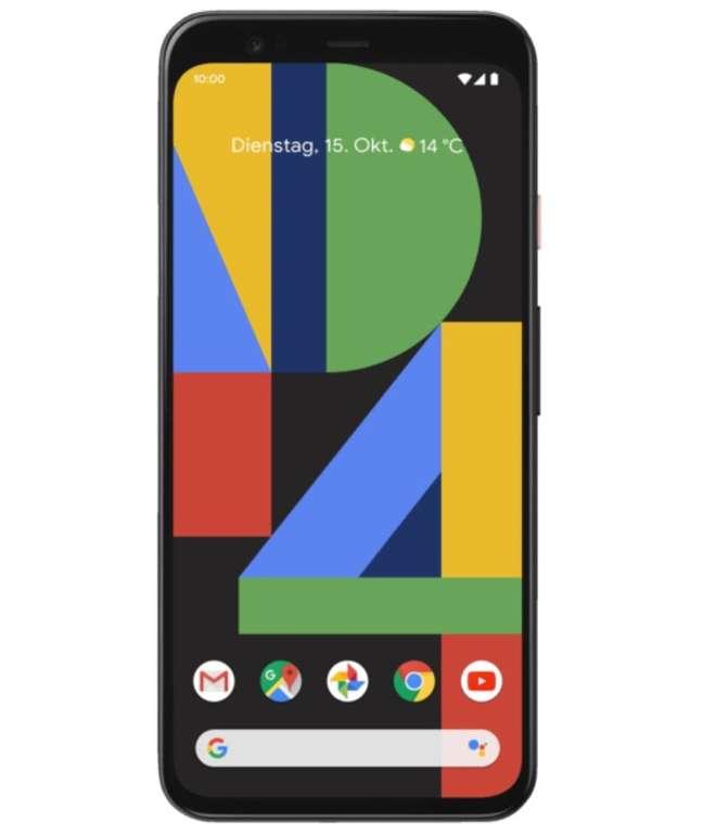 Google Pixel 4 Dual-SIM Smartphone mit 64GB Speicher - Oh So Orange (Limited Edition) für 555€ + Weitere Farben!