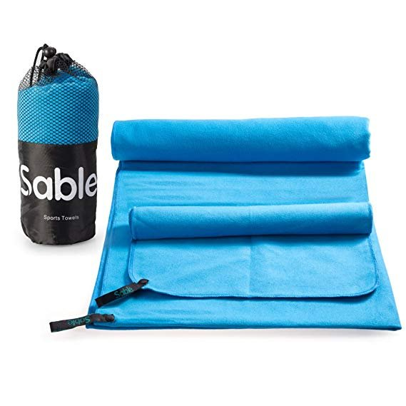 Sable: 2 Strandtücher 9,79€ + 5 Fitnessbänder 6,99€ + Fahrradhandschuhe 6,29€