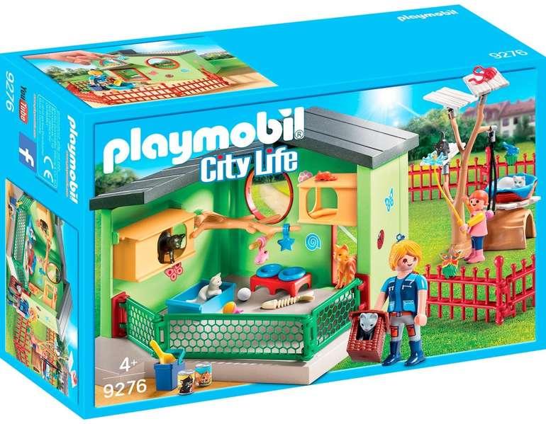 Playmobil City Life 9276 - Katzenpension für 11,99€ (statt 17€) - Prime Versand