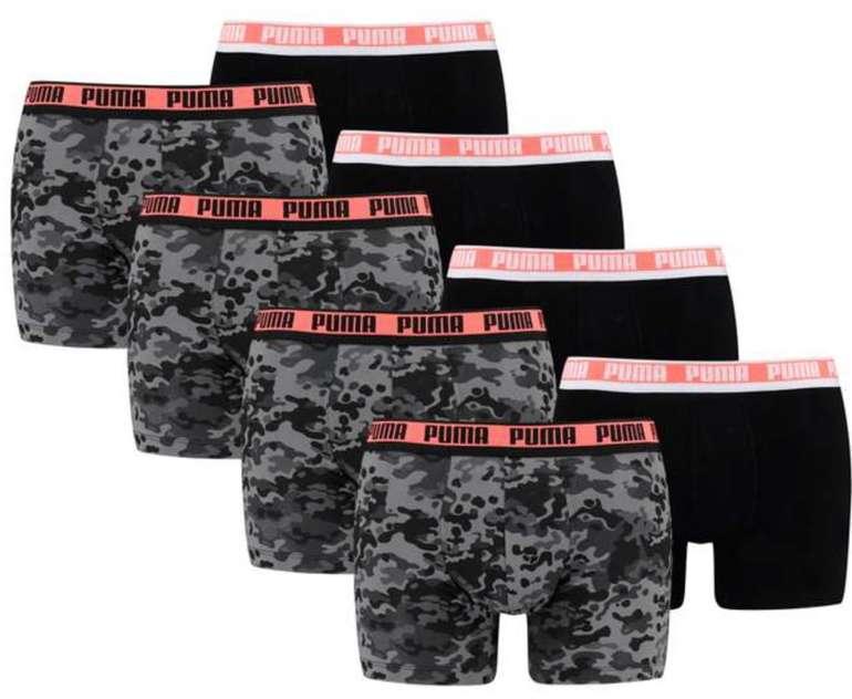 "8er Pack Puma Boxershorts ""Camo Boxer"" für 37,95€ inkl. Versand (statt 57€)"