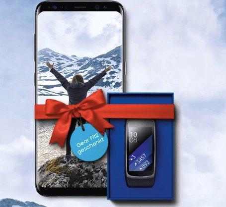 O2 Free M mit 10GB LTE & AllNet-Flat + Galaxy S8 + GearFit 2 für 34,99€ mtl.