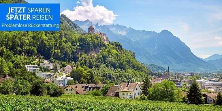 Liechtenstein: 3* Hotel Vaduzerhof im Doppelzimmer inkl. Frühstück ab 109€ bis 31. Dez