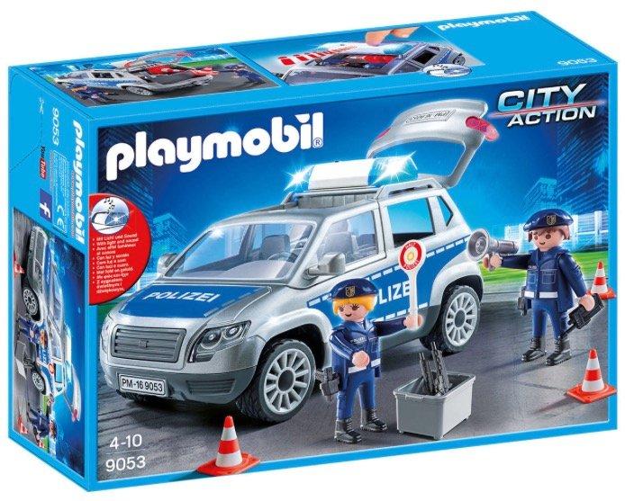 Playmobil City Action Polizeigeländewagen (Licht & Sound) für 24,94€ mit Versand