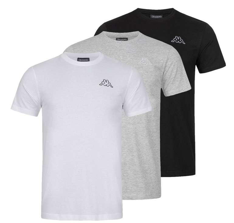 """Kappa """"Ulliko"""" 3er-Pack Unisex T-Shirt Sets für 17,08€ inkl. Versand (statt 28€)"""