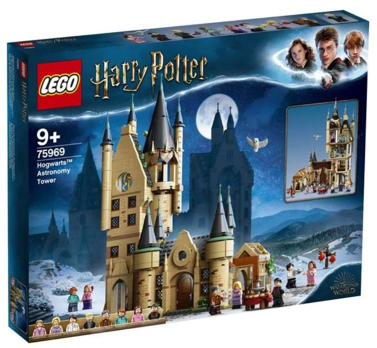 Lego Harry Potter - Astronomieturm auf Schloss Hogwarts (75969) für 64,99€ inkl. Versand (statt 76€)