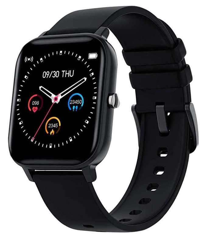"""Zagzog Smartwatch mit 1.4"""" Vollfarb-Touchscreen (IP68-Schutz, Sportmodus, Schrittzähler etc.) für 24,49€"""