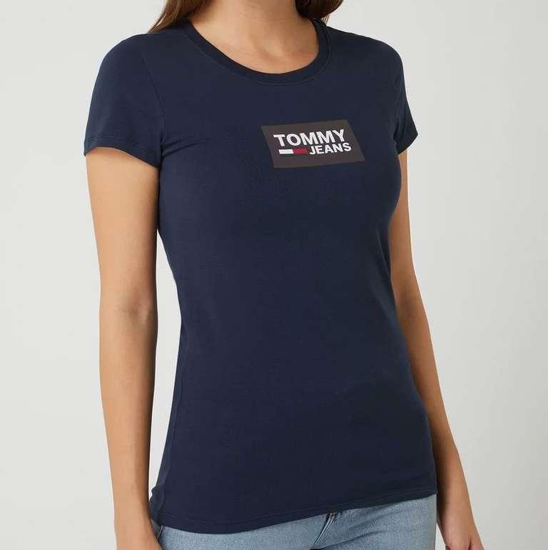 Tommy Jeans Damen T-Shirt mit Logo-Print für 18,99€ inkl. Versand (statt 26€)