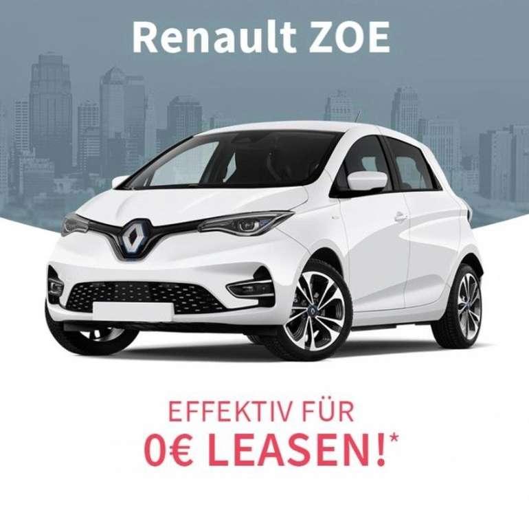 Knaller! Gewerbe Leasing: Renault Zoe Elektro Auto (80kW, 109PS, Automatik) effektiv kostenlos!