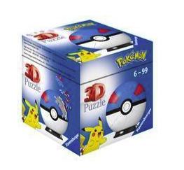 Ravensburger Pokémon Pokéballs 3D-Puzzelball (11265) für 6,29€ inkl. Versand (statt 12€) - Thalia Club!