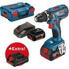 Bosch Professional GSR18V-28, 2x 5Ah + 1x 4Ah Procore + L-Boxx für 179,95€