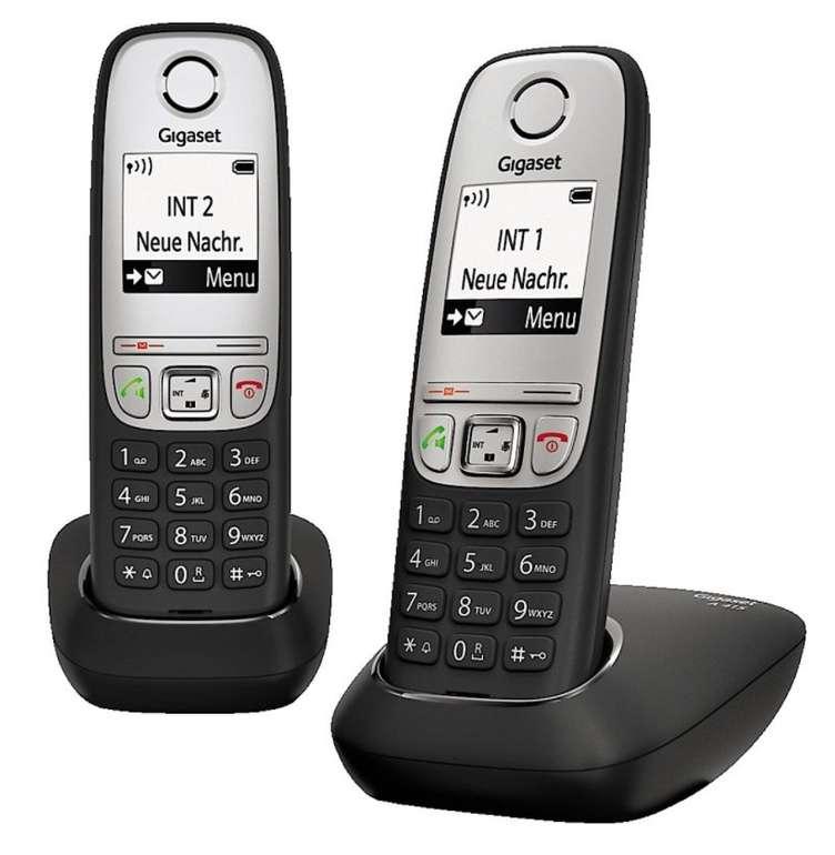 Gigaset A415 Duo Schnurlostelefon mit Anrufbeantworter für 25,95€ inkl. Versand (statt 45€)