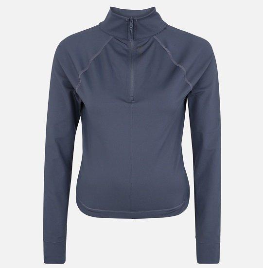 Under Armour Damen Funktionsshirt 'CG Rush LS' in blau/grau für 21,56€