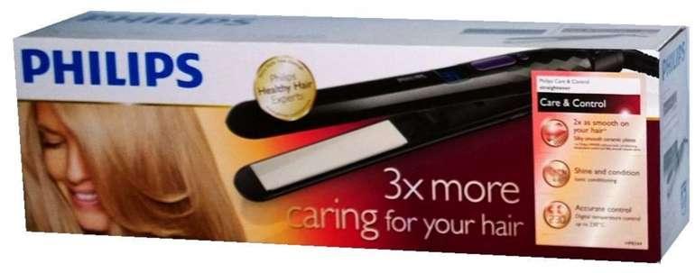 Philips HP 8344/00 Care & Control Ionen Haarglätter bzw. Glätteisen für 24,04€ (statt 39€)
