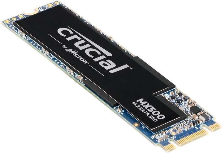 CRUCIAL MX500 - M.2 SSD mit 1TB Speicher für 94,04€ (statt 106€) - Direktabzug