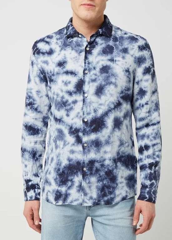 """McNeal Slim Fit Herren Leinenhemd """"Levi"""" in 2 Farben für je 15,99€ inkl. Versand (statt 20€)"""