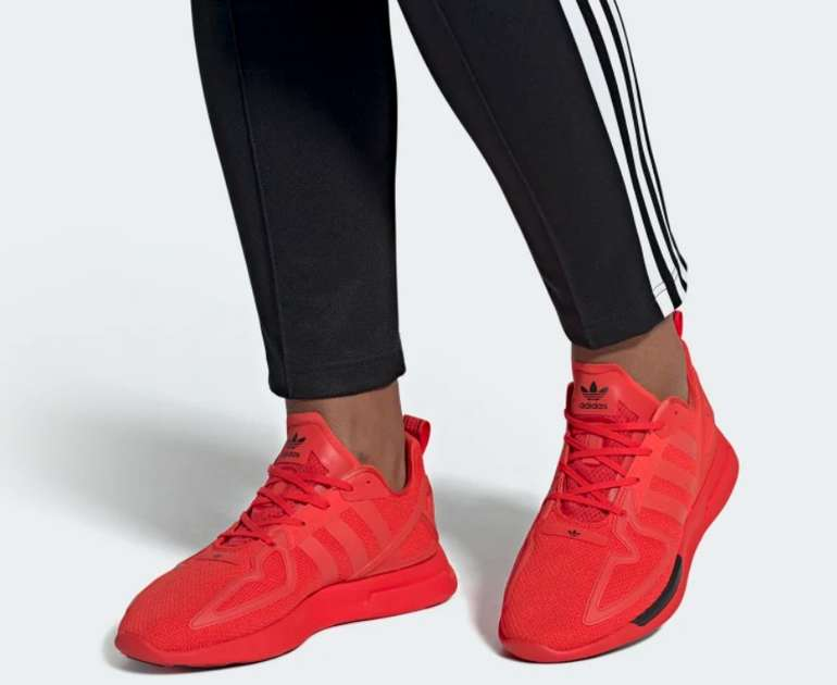 """adidas ZX 2K Flux Schuh im """"Red/Core-Black"""" Design für 49,98€ inkl. Versand (statt 100€)"""