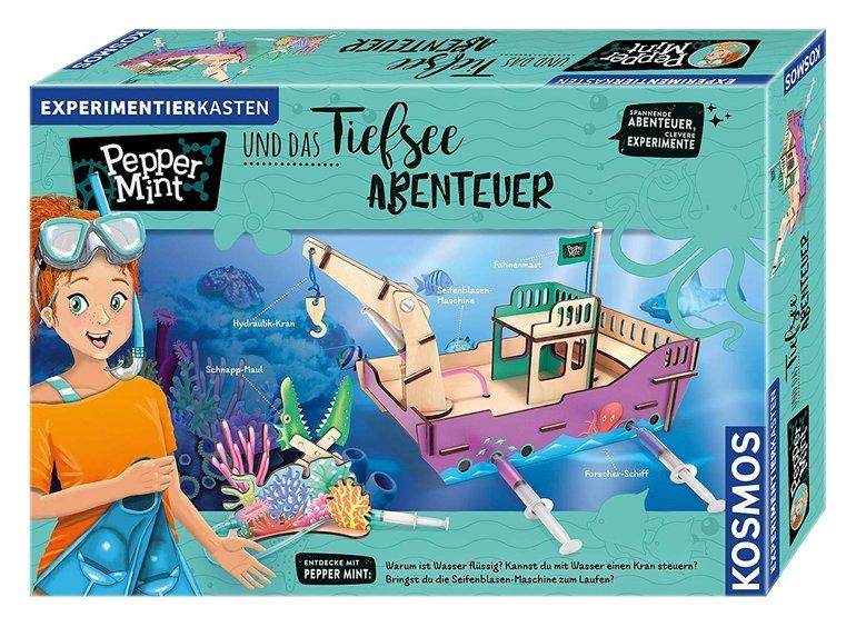 """Kosmos Experimentierkasten """"Pepper Mint und das Tiefsee-Abenteuer"""" für 17,60€ inkl. Versand (statt 21€)"""