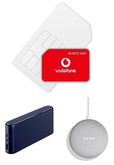 Vodafone Smart Surf (2GB LTE, 50 min & SMS) für 4,99€ mtl. + gratis AKG S30 oder Home Mini