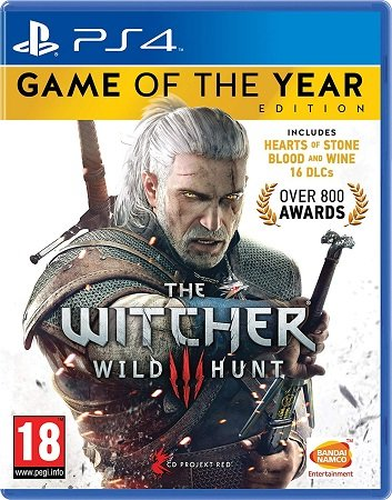 The Witcher 3: Wild Hunt - Game of the Year Edition (Playstation 4) für 16,53€