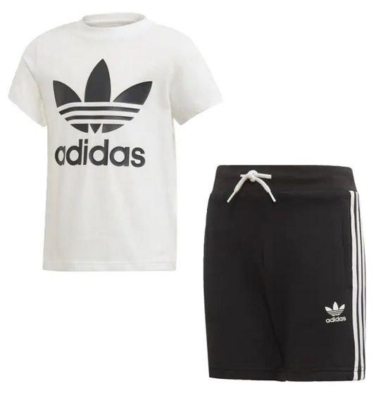 Adidas Trefoil Shorts und T-Shirt Set (Kinder) für 21,26€ inkl. Versand (statt 38€)