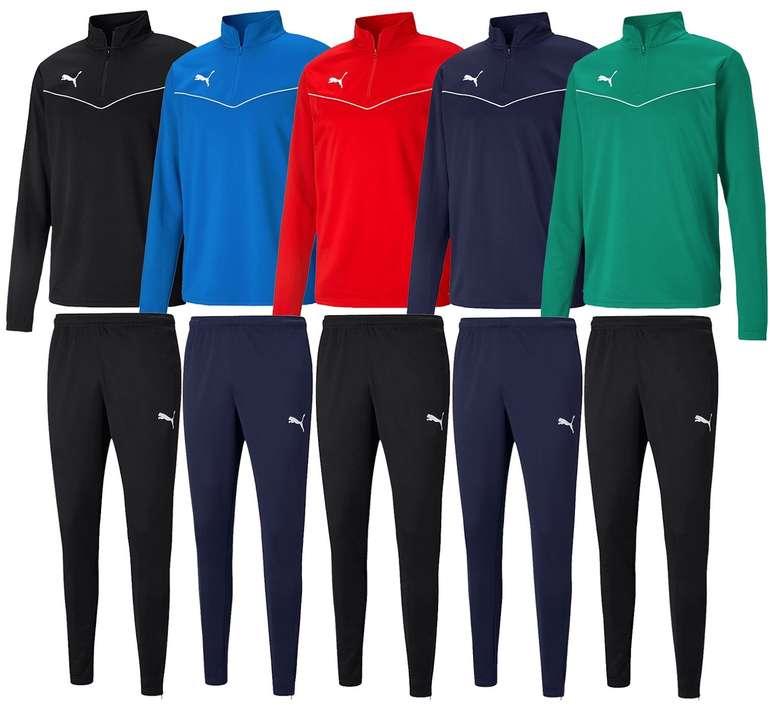 Puma Trainingsanzug Team Rise (versch. Farben) für je 29,95€ inkl. Versand (statt 40€)