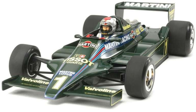Tamiya 300020061 - Lotus Typ 79 Martini 1979, Bausatz 1:20 für 24,87€ inkl. Versand (statt 45€)