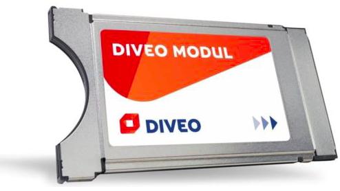 Diveo CI+ Modul für HD-Satempfang (Zubehör TV Gerät) nur 59€ (statt 66€)