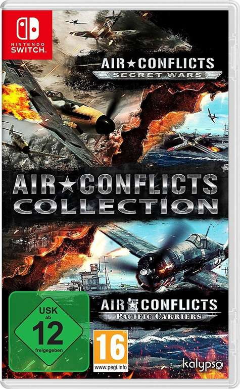 Air Conflicts: Double Pack (Nintendo Switch) für 9,99€ (Abholung)