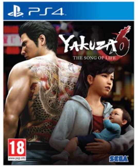 Yakuza 6: The Song of Life (PS4) für 14,99€ inkl. Versand (statt 22€)