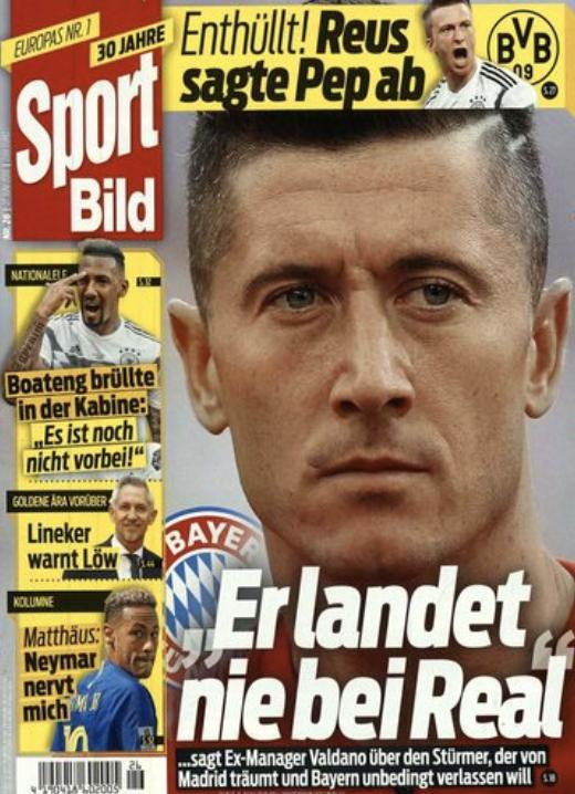 Sport BILD Jahresabo für 117,30€ + 6€ Sofortrabatt + 85€ Verrechnungsscheck