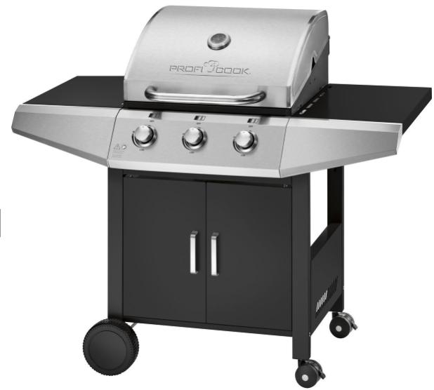 Profi Cook Gas-Grill PC-GG 1057 mit 3-fach Brenner für 179€ (statt 204€)